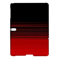 Abstract Of Red Horizontal Lines Samsung Galaxy Tab S (10 5 ) Hardshell Case