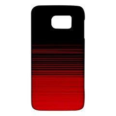 Abstract Of Red Horizontal Lines Galaxy S6