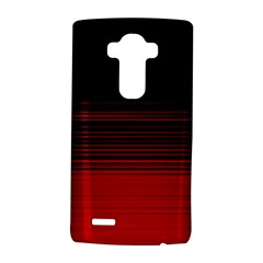 Abstract Of Red Horizontal Lines LG G4 Hardshell Case