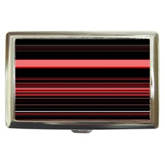 Abstract Of Red Horizontal Lines Cigarette Money Cases