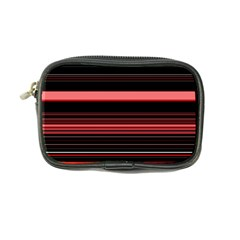 Abstract Of Red Horizontal Lines Coin Purse