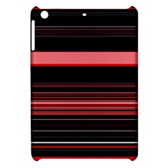 Abstract Of Red Horizontal Lines Apple Ipad Mini Hardshell Case