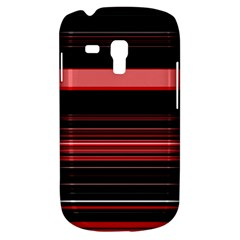 Abstract Of Red Horizontal Lines Galaxy S3 Mini