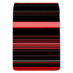 Abstract Of Red Horizontal Lines Flap Covers (l)