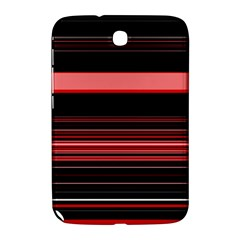 Abstract Of Red Horizontal Lines Samsung Galaxy Note 8 0 N5100 Hardshell Case