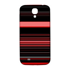 Abstract Of Red Horizontal Lines Samsung Galaxy S4 I9500/i9505  Hardshell Back Case