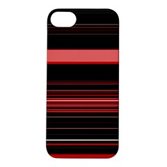 Abstract Of Red Horizontal Lines Apple Iphone 5s/ Se Hardshell Case