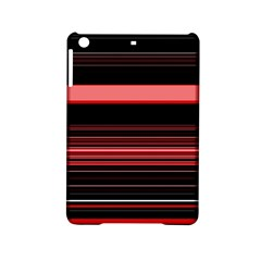 Abstract Of Red Horizontal Lines Ipad Mini 2 Hardshell Cases