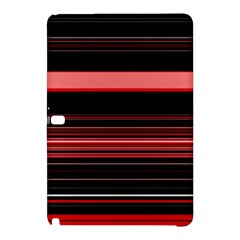 Abstract Of Red Horizontal Lines Samsung Galaxy Tab Pro 10 1 Hardshell Case