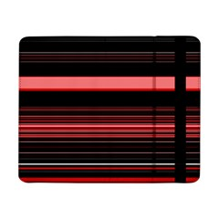 Abstract Of Red Horizontal Lines Samsung Galaxy Tab Pro 8 4  Flip Case