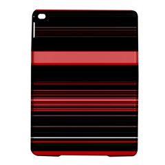 Abstract Of Red Horizontal Lines Ipad Air 2 Hardshell Cases