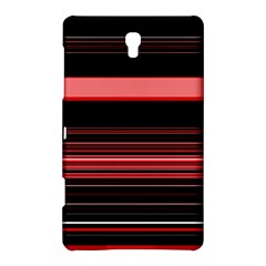 Abstract Of Red Horizontal Lines Samsung Galaxy Tab S (8 4 ) Hardshell Case