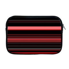 Abstract Of Red Horizontal Lines Apple Macbook Pro 17  Zipper Case
