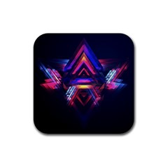 Abstract Desktop Backgrounds Rubber Coaster (square)