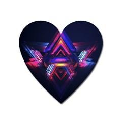 Abstract Desktop Backgrounds Heart Magnet