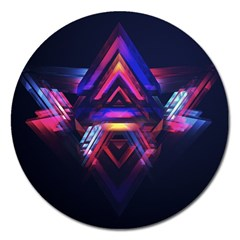 Abstract Desktop Backgrounds Magnet 5  (round)