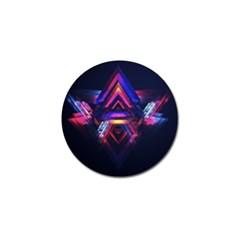 Abstract Desktop Backgrounds Golf Ball Marker (10 Pack)