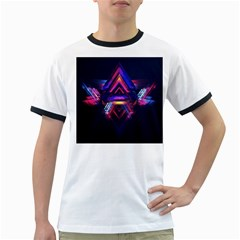 Abstract Desktop Backgrounds Ringer T Shirts