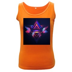 Abstract Desktop Backgrounds Women s Dark Tank Top