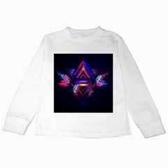 Abstract Desktop Backgrounds Kids Long Sleeve T Shirts