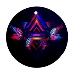 Abstract Desktop Backgrounds Round Ornament (two Sides)