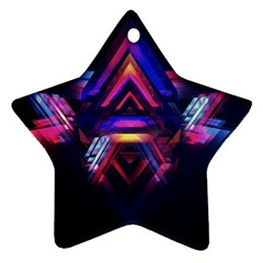 Abstract Desktop Backgrounds Star Ornament (Two Sides)