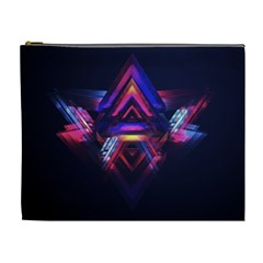 Abstract Desktop Backgrounds Cosmetic Bag (xl)