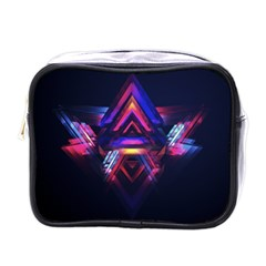 Abstract Desktop Backgrounds Mini Toiletries Bags
