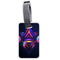 Abstract Desktop Backgrounds Luggage Tags (two Sides)