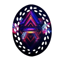 Abstract Desktop Backgrounds Oval Filigree Ornament (two Sides)