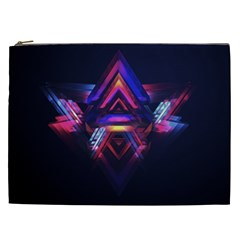 Abstract Desktop Backgrounds Cosmetic Bag (xxl)