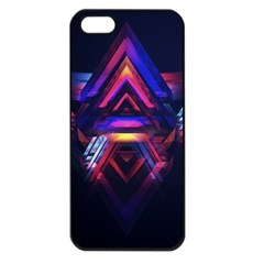 Abstract Desktop Backgrounds Apple Iphone 5 Seamless Case (black)