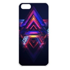 Abstract Desktop Backgrounds Apple Iphone 5 Seamless Case (white)