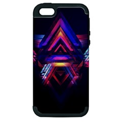 Abstract Desktop Backgrounds Apple Iphone 5 Hardshell Case (pc+silicone)