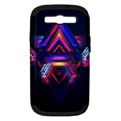 Abstract Desktop Backgrounds Samsung Galaxy S Iii Hardshell Case (pc+silicone)
