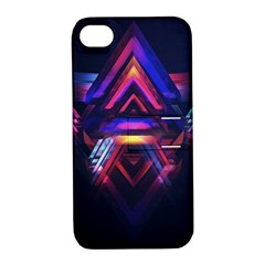 Abstract Desktop Backgrounds Apple iPhone 4/4S Hardshell Case with Stand