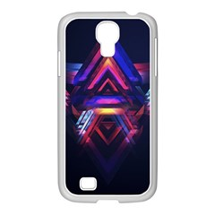 Abstract Desktop Backgrounds Samsung Galaxy S4 I9500/ I9505 Case (white)