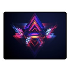 Abstract Desktop Backgrounds Double Sided Fleece Blanket (small)
