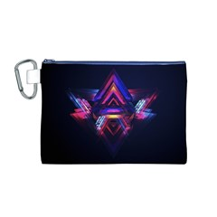 Abstract Desktop Backgrounds Canvas Cosmetic Bag (m)