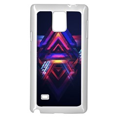 Abstract Desktop Backgrounds Samsung Galaxy Note 4 Case (white)
