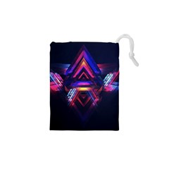 Abstract Desktop Backgrounds Drawstring Pouches (XS)