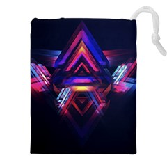 Abstract Desktop Backgrounds Drawstring Pouches (xxl)