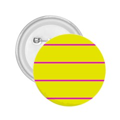 Background Image Horizontal Lines And Stripes Seamless Tileable Magenta Yellow 2.25  Buttons