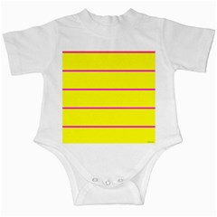 Background Image Horizontal Lines And Stripes Seamless Tileable Magenta Yellow Infant Creepers