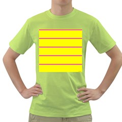 Background Image Horizontal Lines And Stripes Seamless Tileable Magenta Yellow Green T Shirt