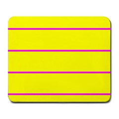 Background Image Horizontal Lines And Stripes Seamless Tileable Magenta Yellow Large Mousepads