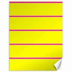 Background Image Horizontal Lines And Stripes Seamless Tileable Magenta Yellow Canvas 18  X 24