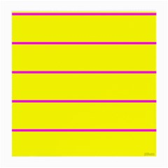 Background Image Horizontal Lines And Stripes Seamless Tileable Magenta Yellow Medium Glasses Cloth