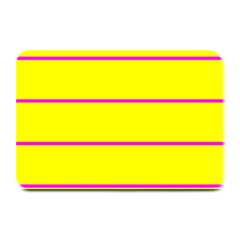 Background Image Horizontal Lines And Stripes Seamless Tileable Magenta Yellow Plate Mats