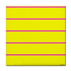 Background Image Horizontal Lines And Stripes Seamless Tileable Magenta Yellow Face Towel